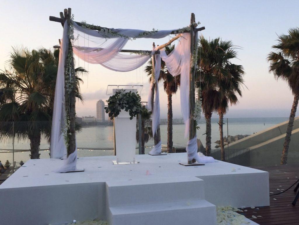 altar boda hotel vela