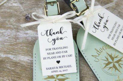 destination weddings wedding favors